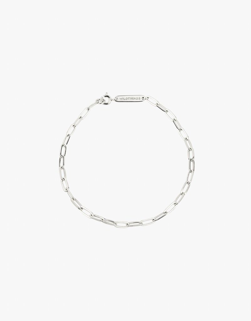 Wildthings Collectables Chain Bracelet Silver