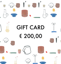 Gift Card - €  200,00