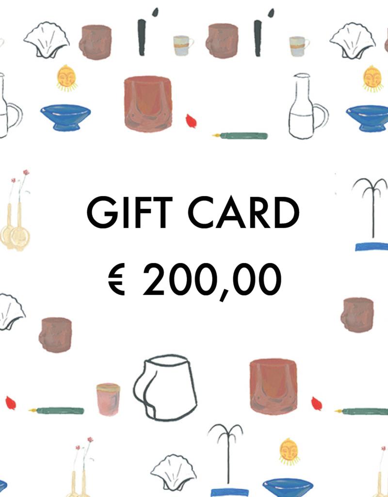 Gift Card - €  200,00