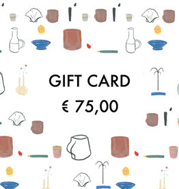 Gift Card - € 75,00