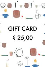 Gift Card - € 25,00