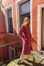 Sissel Edelbo Wilma Quilted Silk Coat 2