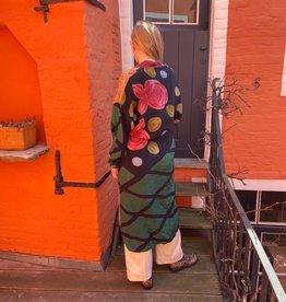 Sissel Edelbo Pocket Long Mix Silk Kimono 1