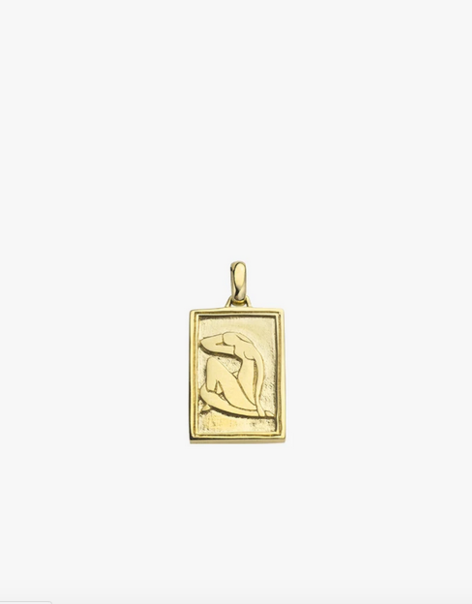 Wildthings Collectables Wild Matisse Woman Pendant Gold