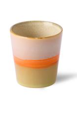 HK Living Ceramic 70's mug saturn