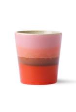 HK Living Ceramic 70's mug mars
