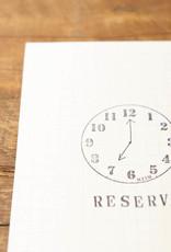 Nombre Stamp Clock