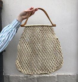 Maison Bengal Ltd Macrame bag natural