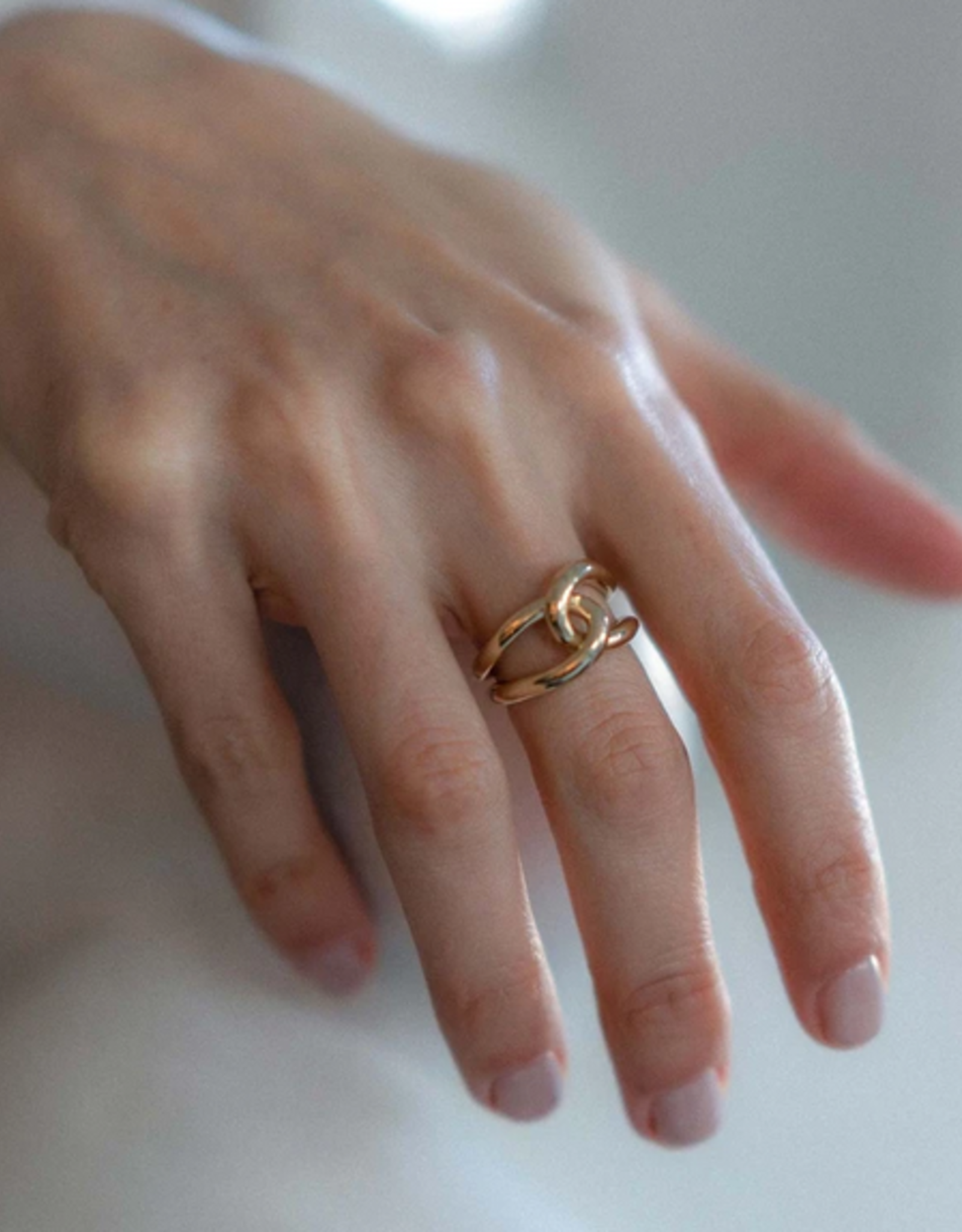 Gabriela Artigas Gabriela Artigas Ring Full Link gold ring size: 54