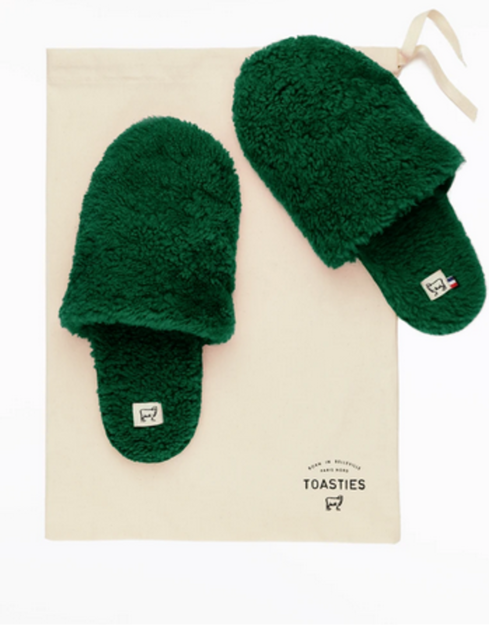 Toasties Toasties Hotel slippers green S