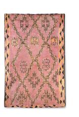 HK Living Hand knotted woolen berber rug terra/orange (180x280)