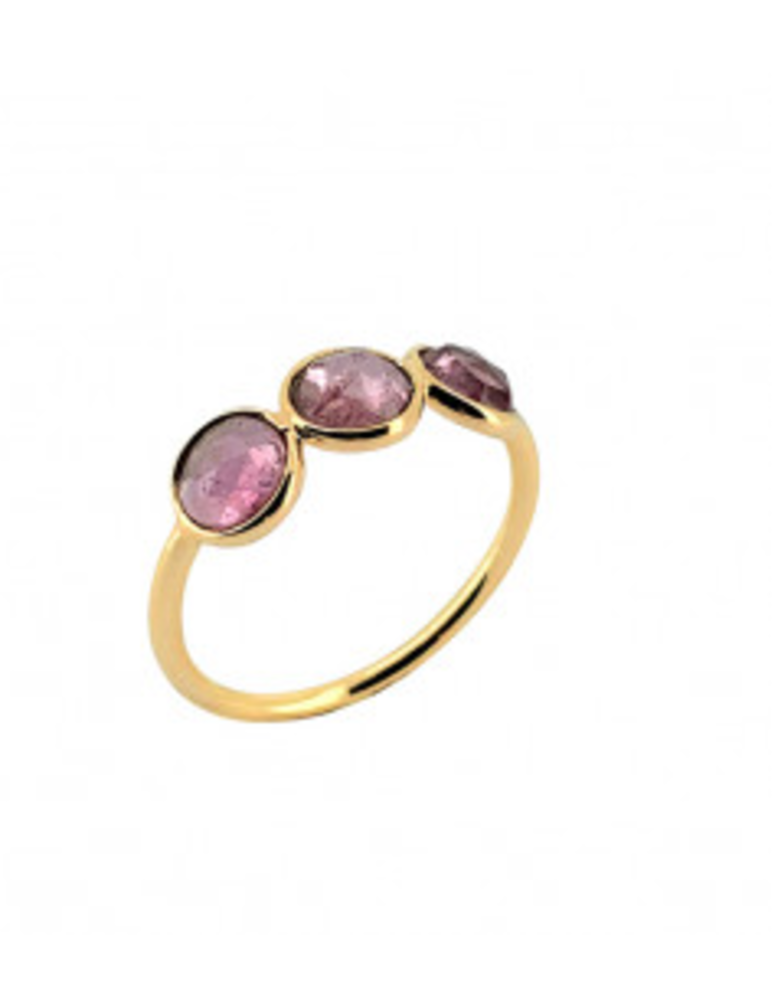 Sophie Deschamps Ring tourmaline pink size 52
