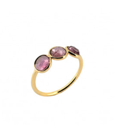 Sophie Deschamps Ring tourmaline pink size 54