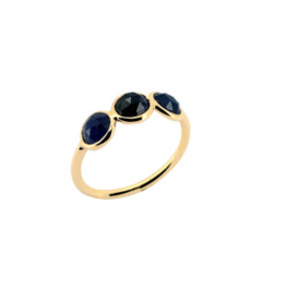 Sophie Deschamps Ring saphire blue size 52