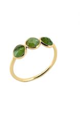 Sophie Deschamps Ring tourmaline green size 52