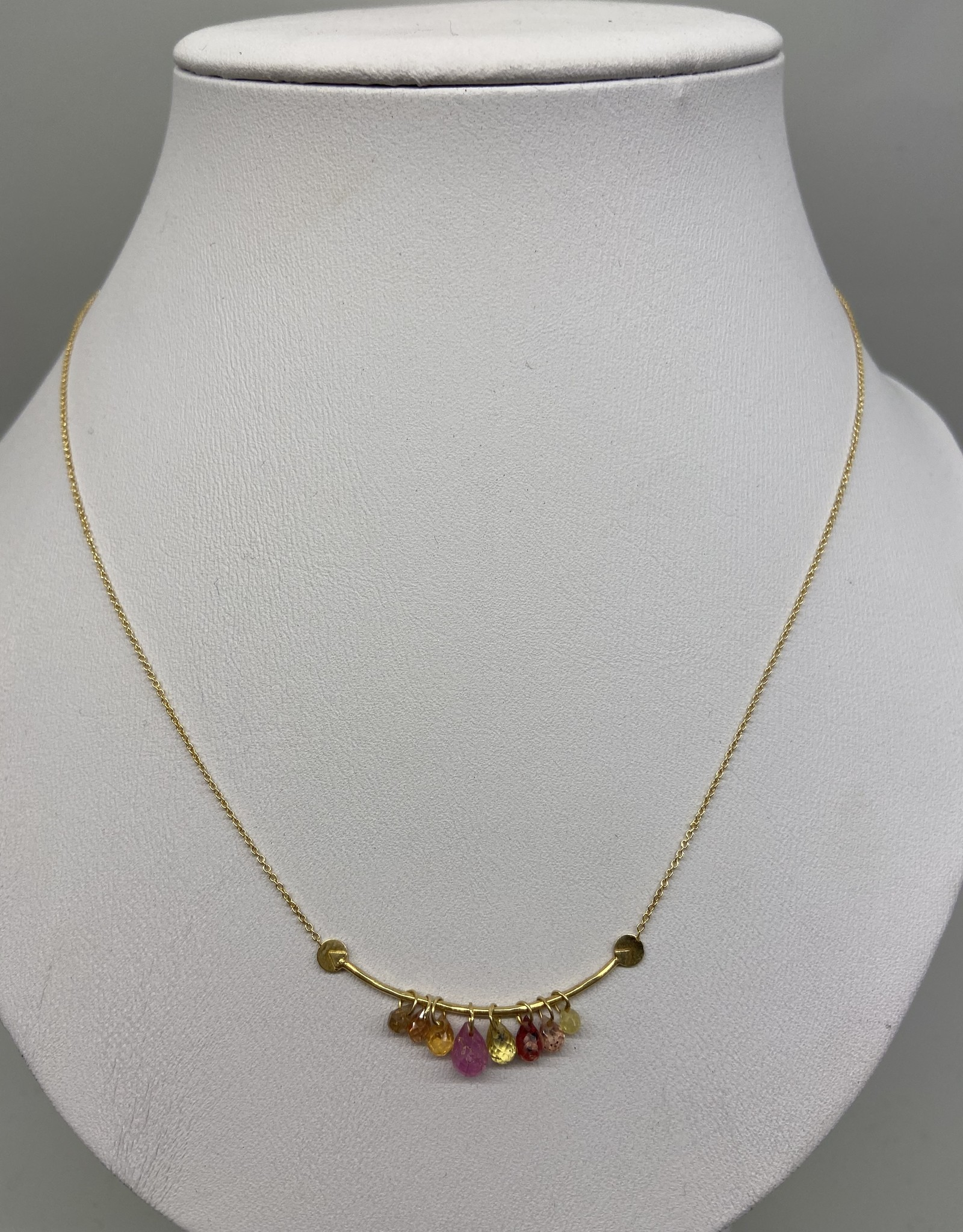 5 Octobre 5 Octobre Necklace Erisa pink tourmaline