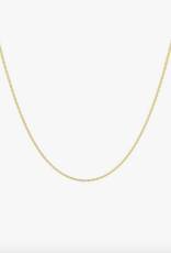Wildthings Collectables Rope chain nacklace gold 45cm