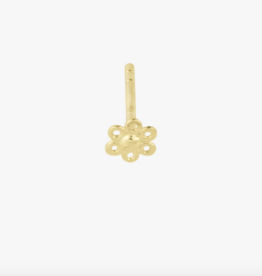 Wildthings Collectables Poppy flower stud gold