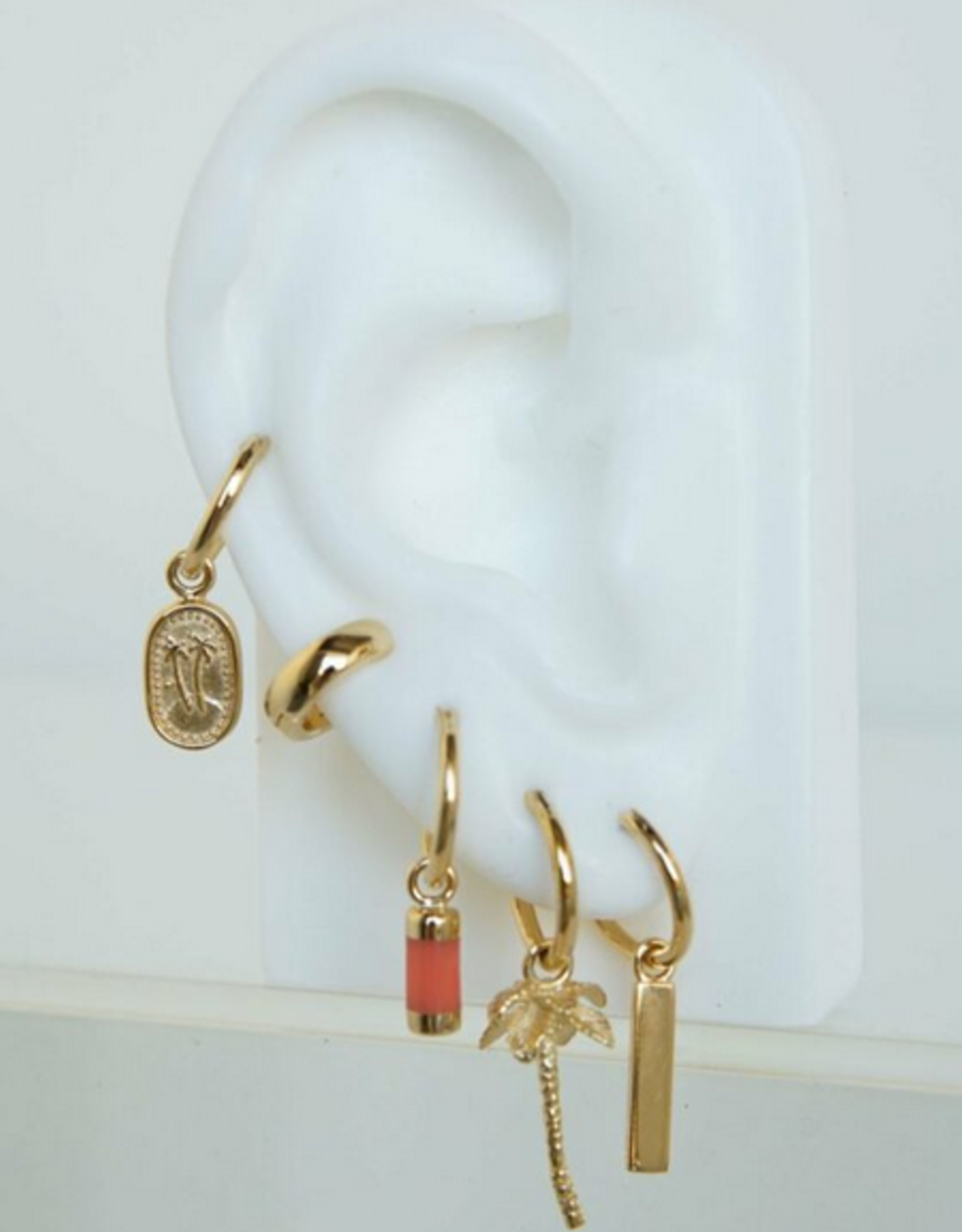 Wildthings Collectables Sunrise earring gold