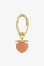 Wildthings Collectables Feeling peachy earring gold