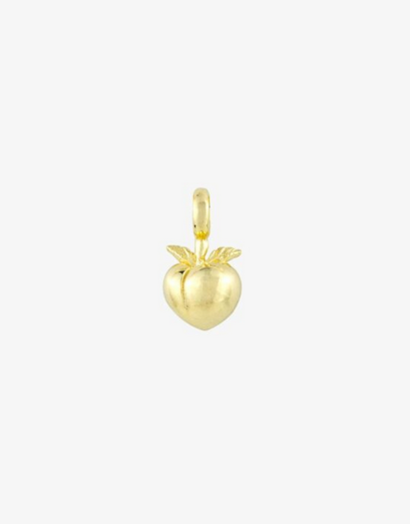 Wildthings Collectables Vintage peach pendant gold