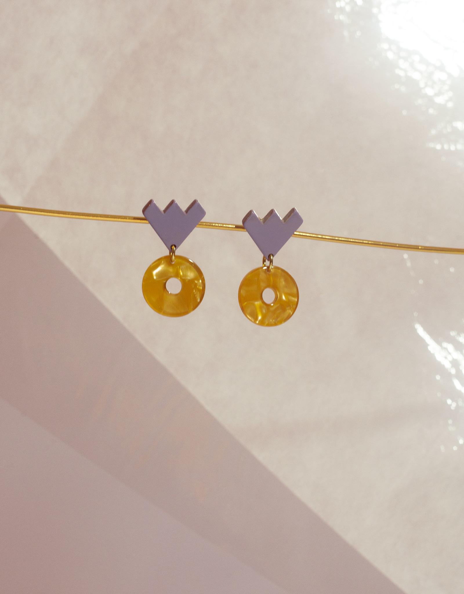 Après Ski Luka Petite Doré Earrings