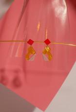 Après Ski Abya Petite Doré earrings