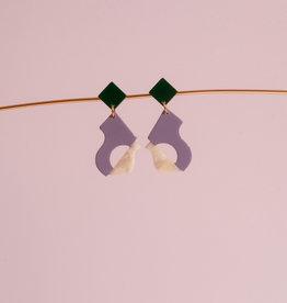 Après Ski Abya Petite Lilas earrings