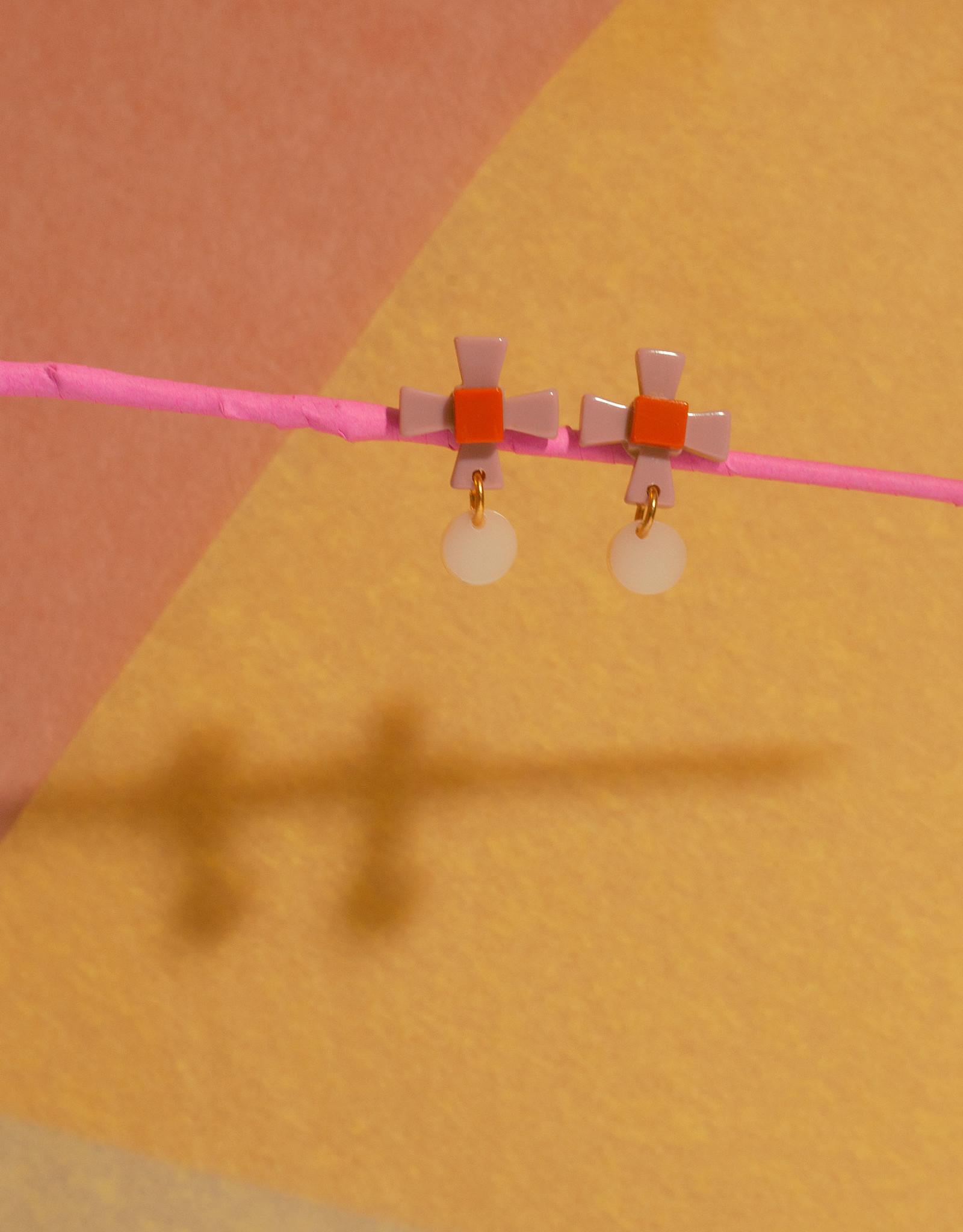 Après Ski Aram Rose earrings