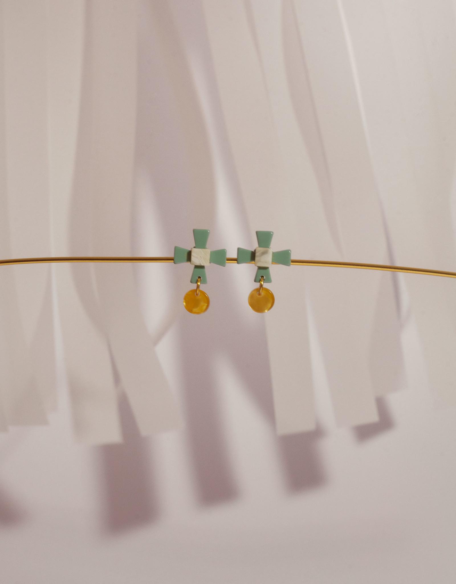 Après Ski Aram Vert earrings