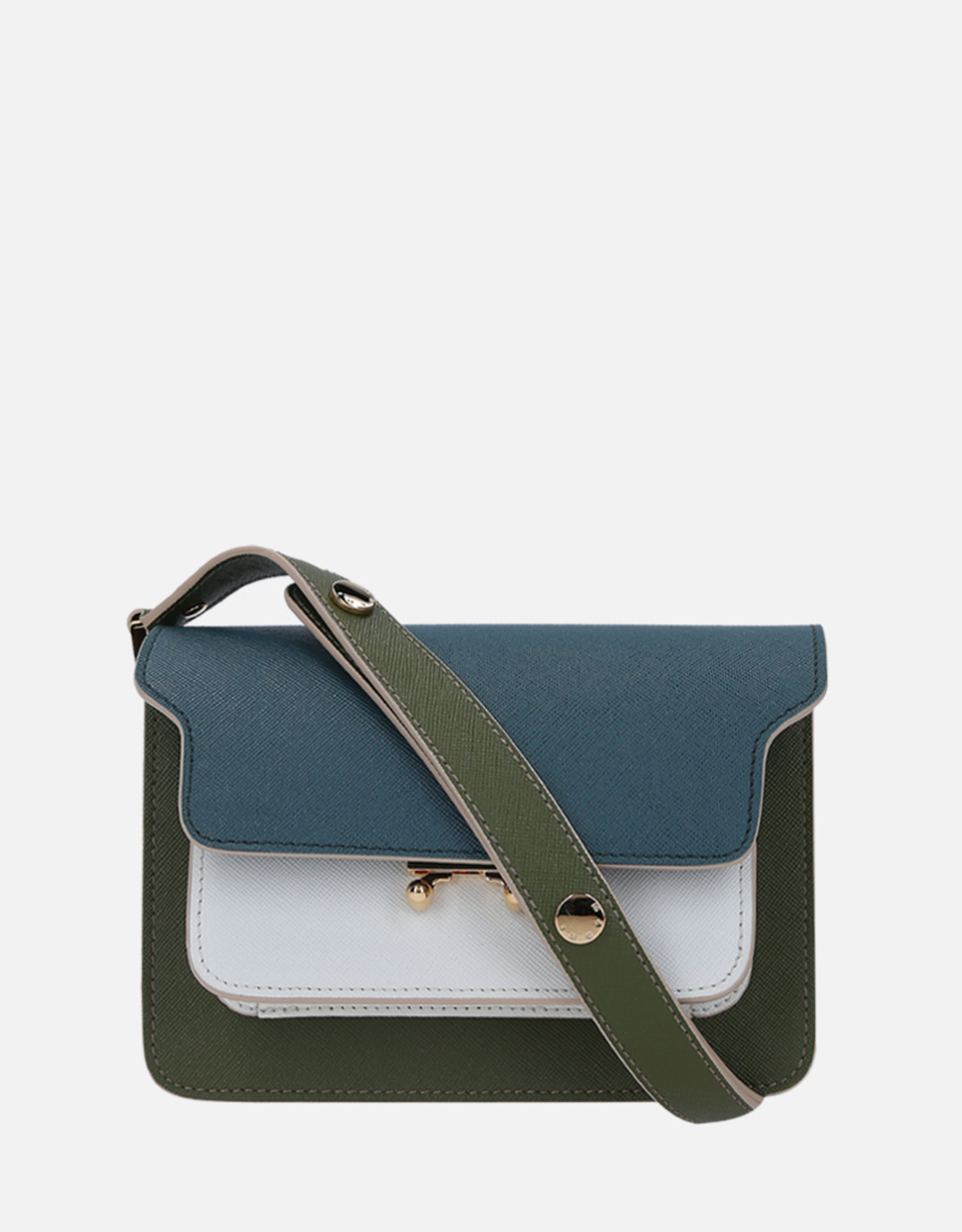 Marni Marni Trunk bag Small Green / White