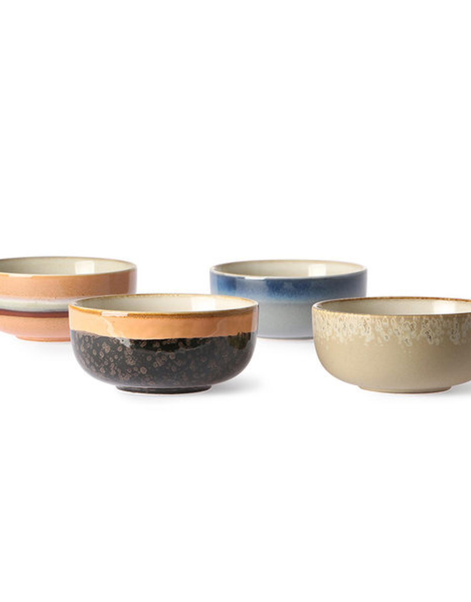 HK Living 70's Bowls Medium (set of 4)