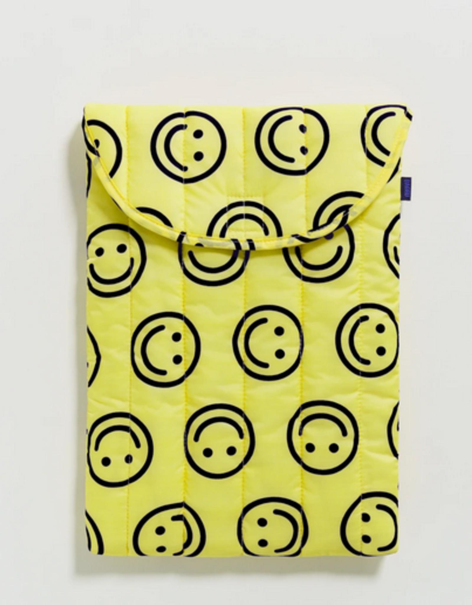 Baggu Puffy laptop smiley