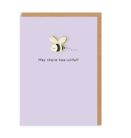 Ohh deer Card Hey there bee-utiful!