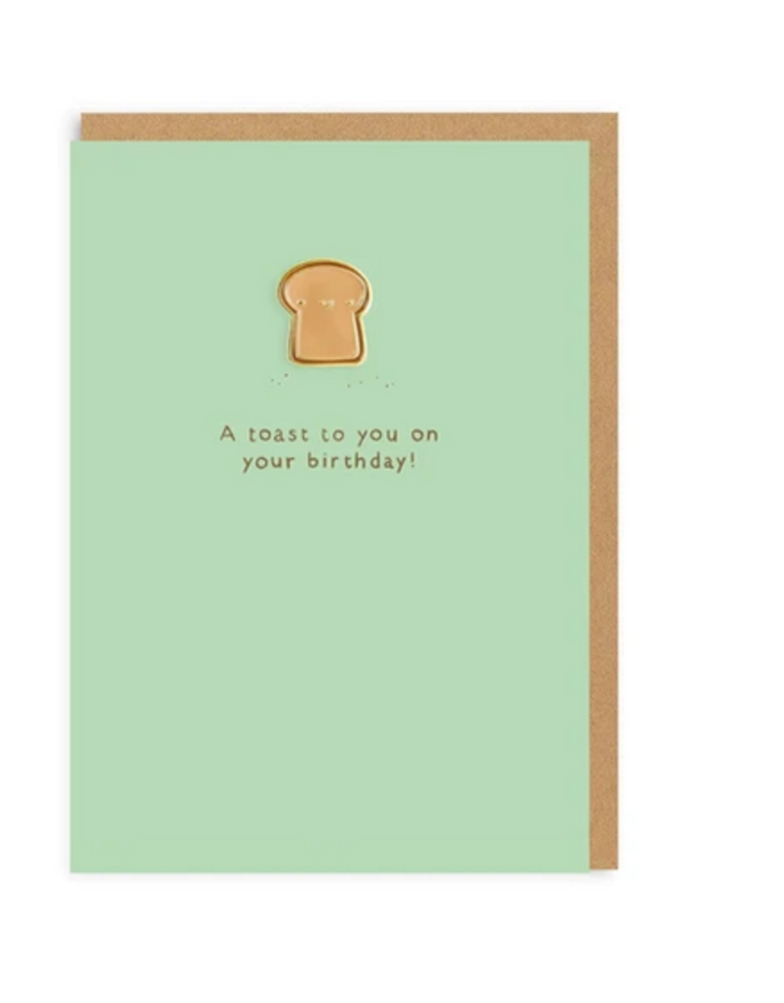 Ohh deer Card A toast to you on your birthday!