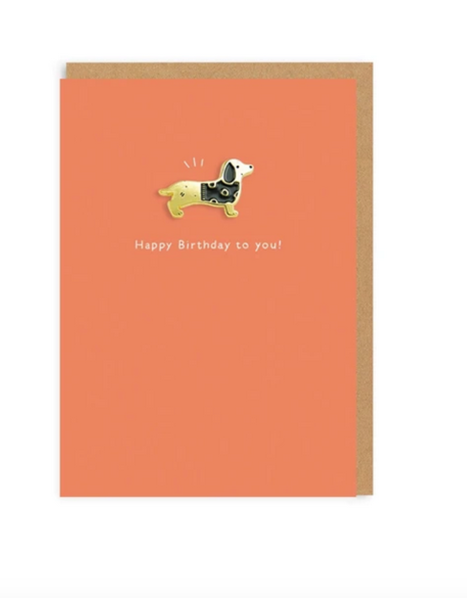 Ohh deer Card Sausage dog , Happy birthday to you!