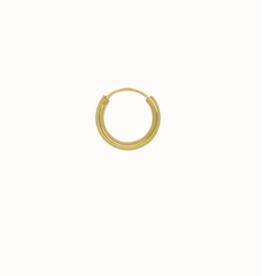 Flawed Plain hoop gold (sold per piece)