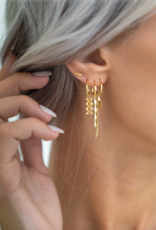 Flawed Flare studs silver