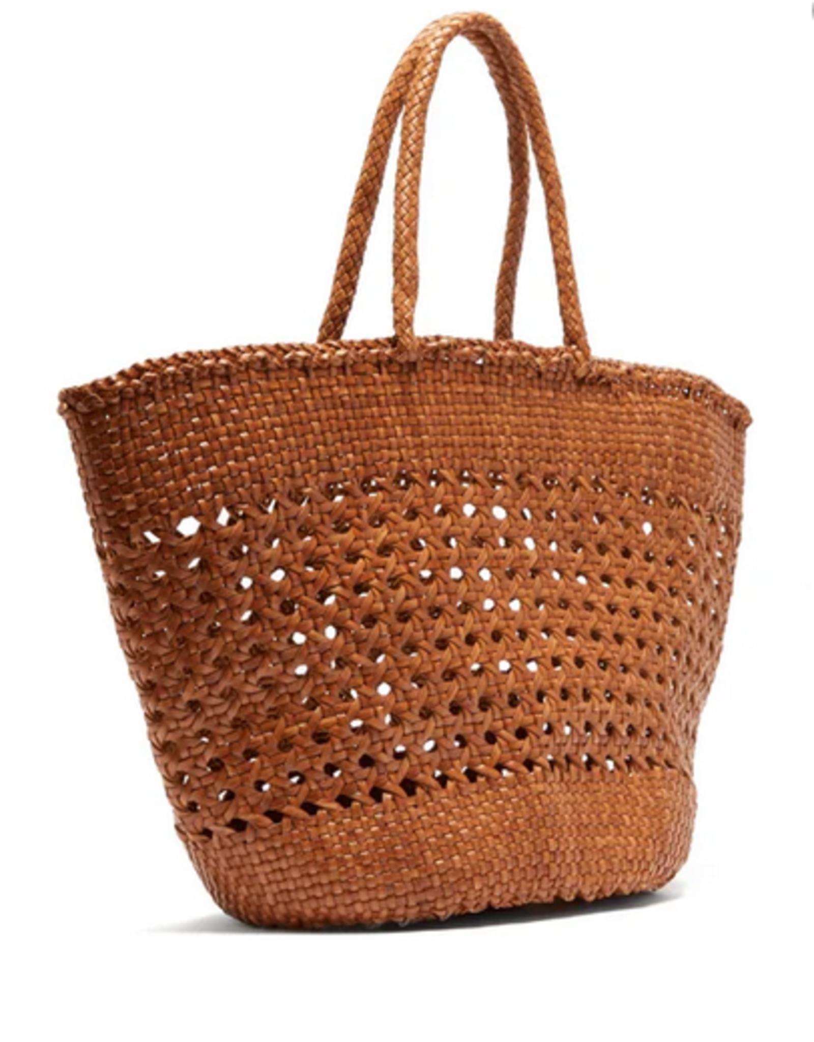 Dragon Diffusion Cannage Market XL ( british tan) bag