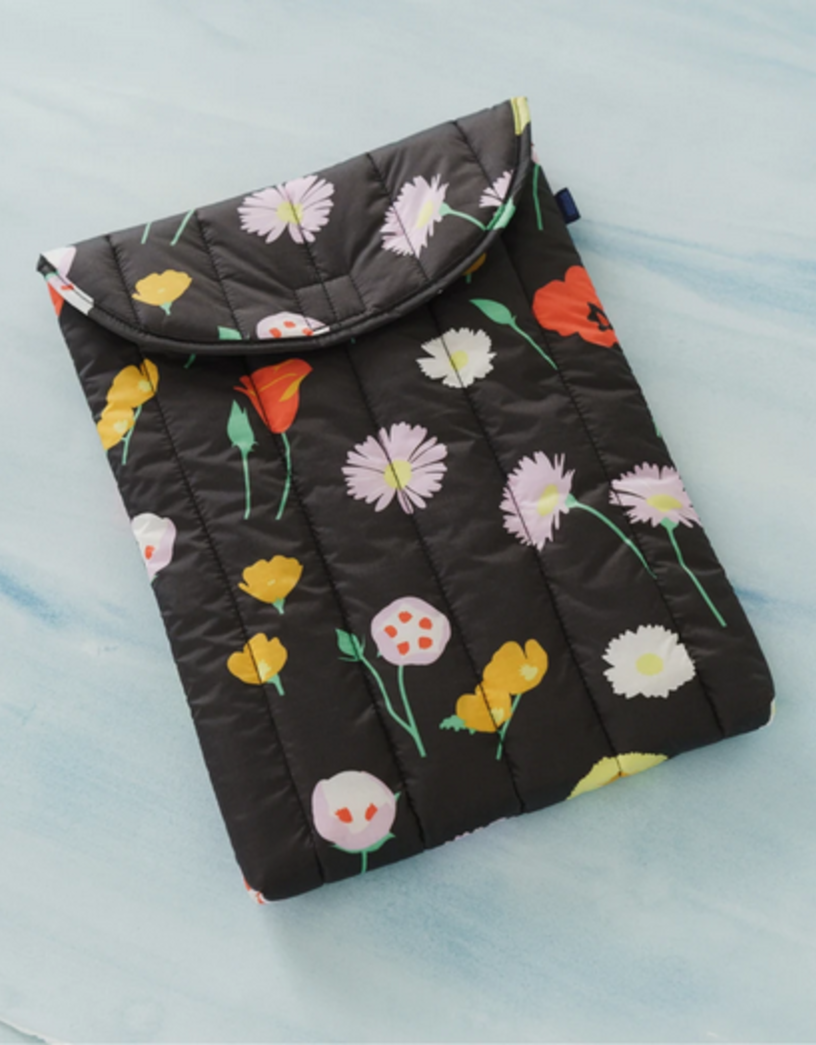 Baggu Puffy laptop sleeve wildflower 16 inch