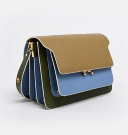 Marni Marni Trunk Bag Baby Blue / Green
