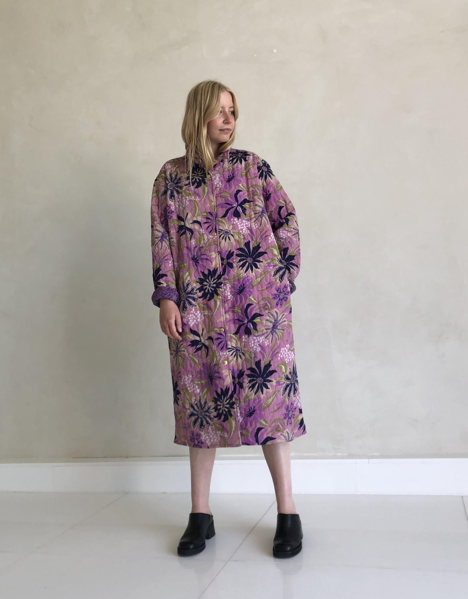 Sissel Edelbo Wilma Quilted Silk Coat 1