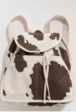 Baggu Drawstring backpack cow