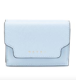 Marni Marni Trunk wallet baby blue