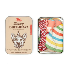 Kikkerland Dog birthday Kit