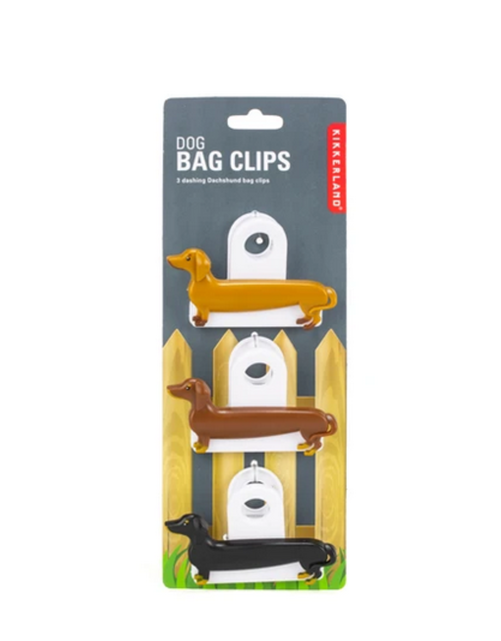 Kikkerland Dog Bag Clip