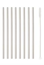 Kikkerland Steel Straws