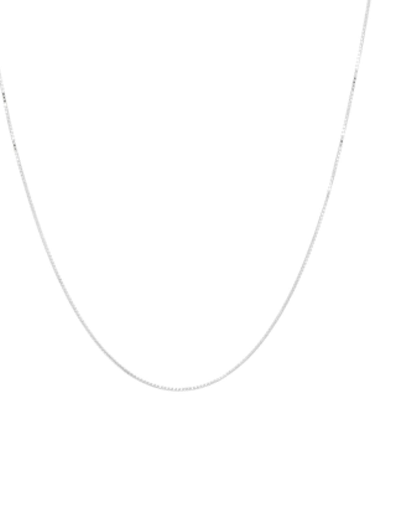 Anna + Nina Anna + Nina square plain necklace long