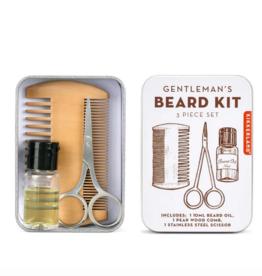 Kikkerland Beard Kit