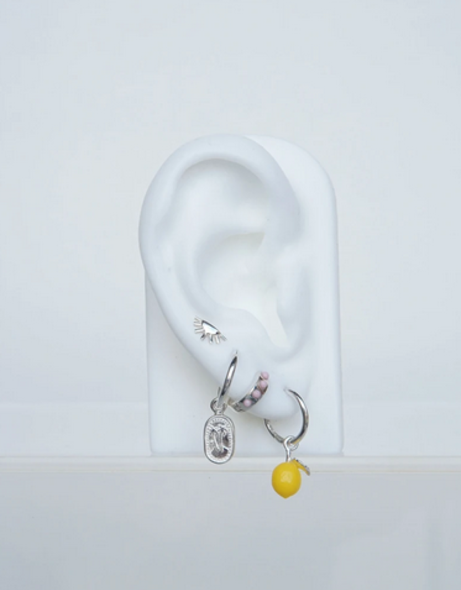 Wildthings Collectables Lemon earring silver